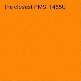 självhäftande papper intensivt orange 70 g/m2 (rekommenderat utskrift svart)