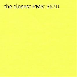 självhäftande papper intensivt gul 70 g/m2 (rekommenderat utskrift svart)