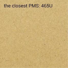 självhäftande återvunnet Kraft-papper 90 g/m2 (rekommenderat utskrift PMS/HKS)