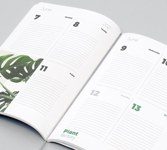 individuell kalenderlayout